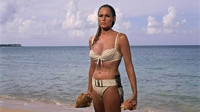 Andress in Dr. No (1962)