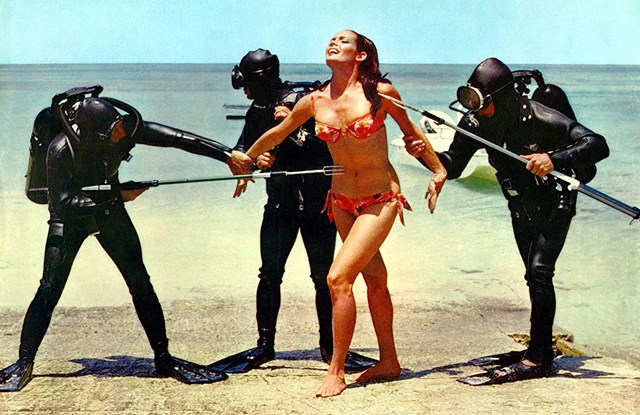 Beswick in Thunderball (1965)